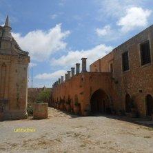 monastero Arkadi scorcio