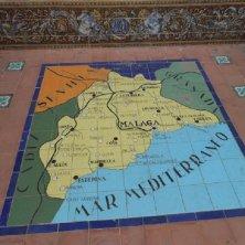 cartina Andalusia