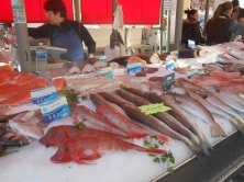 Bancarella del pesce