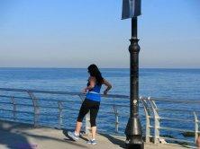 Jogging sulla Corniche