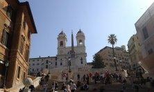 Trinità dei Monti e piazza di Spagna