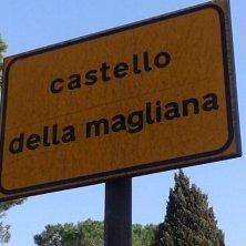 indicazione Castello Magliana