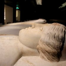 particolare del sarcofago