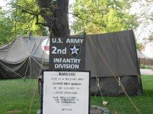accampamento militare