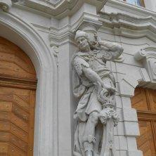 particolare dell'entrata del monastero