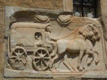 carro postale romano