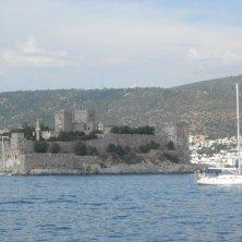 castello di Bodrum visto dal mare