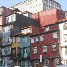 case colorate di Ribeira