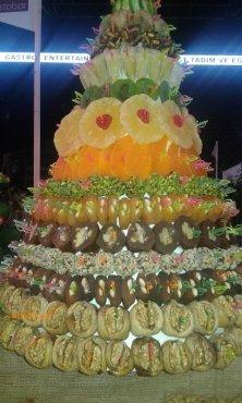 composizione di frutta secca