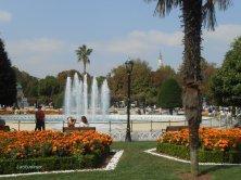 giardini di piazza Sultanahmet