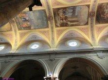 soffitto di carta della Chiesa Madre
