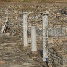 colonne a Stobi