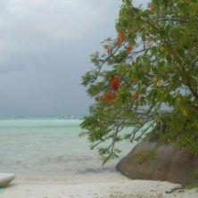 Moyenne Island spiaggia