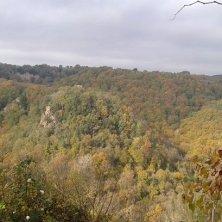 panorma autunnale valle del Treja