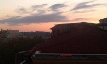 tramonto romano dal Grand Hotel Palace
