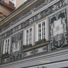 Palazzo decorato a Mala Strana