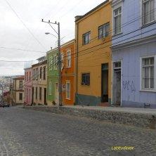 Valparaiso strade e case
