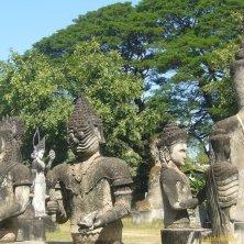 insieme di sculture