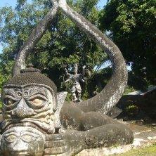 scultura al Buddha Park