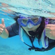 snorkeling con biologi
