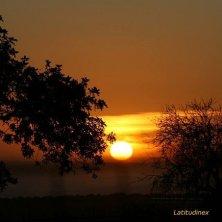 sole al tramonto Scicli