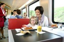 al ristorante sul treno