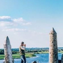 visitatori a Clonmacnoise
