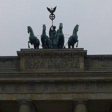cavalli sulla Porta di Brandenburgo