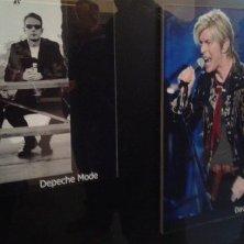 foto di Bowie e Depeche Mode agli Hansa Studio