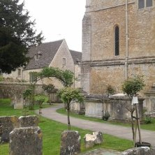 chiesetta di Santa Maria e cimitero Bibury