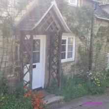 fila di cottage a Winchcombe
