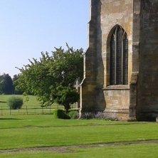 prati intorno all'abbazia