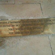 targa per Giorgio di Clarence e Isabella Neville