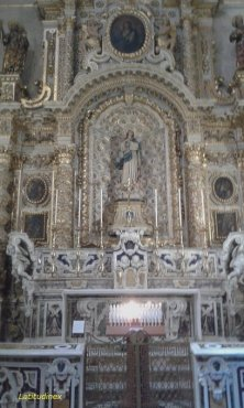 altare Vergine Maria in cattedrale