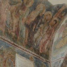 cappella affrescata a San Pietro
