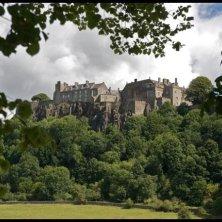 castello di Stirling visto da lontano