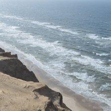 spiaggia dal faro