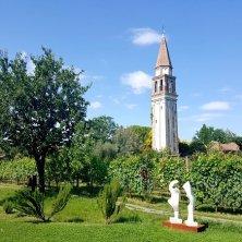 Il campanile nel vigneto Venissa