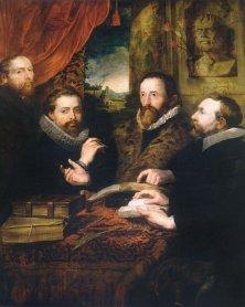 Peter Paul Rubens, I 4 filosofi Museum Plantin Moretus
