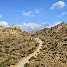 Ad Dakhiliyah - Track in the mountainous area, Jebel Shams, Ad Dakhiliyah, Oman