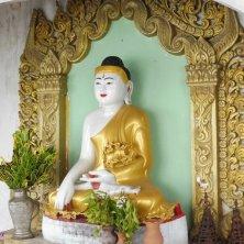Buddha pagoda Mandalay Hill