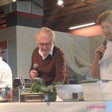 Pierre Gagnaire con gli chef italiani