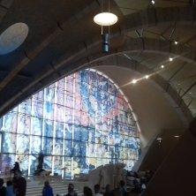 interno chiesa Renzo Piano