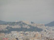 Acropoli vista dal centro culturale Niarkos
