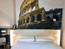 B&B Hotel Roma Fiumicino_camera doppia Colosseo
