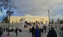 Parlamento a piazza Syntagma