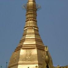 Shwedagon pagoda d'oro