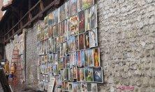 esposizioni artistiche sulle mura