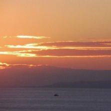 tramonto sull'Attica