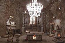 lampadario cappella santa Kinga